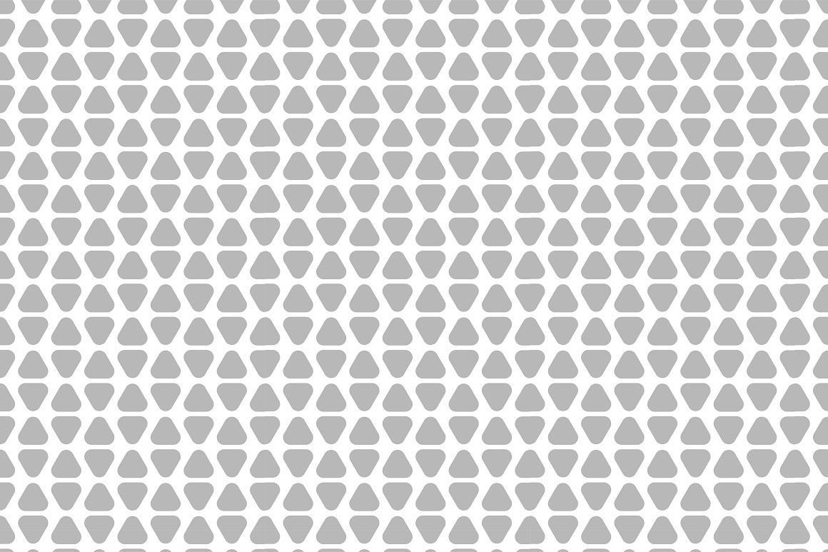 Seamless geometric patterns. 3 colors example image 5