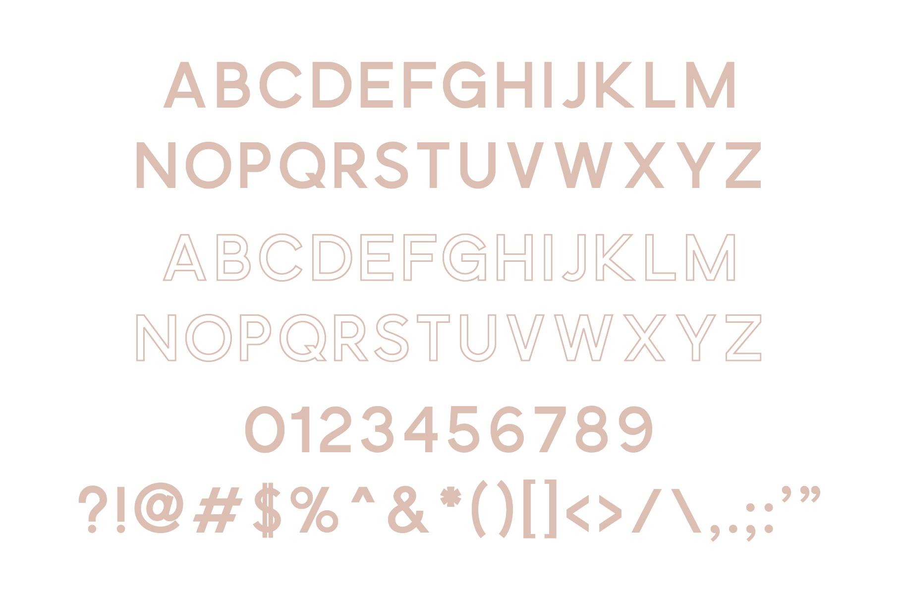 Osaka | Designer Font Duo example image 2