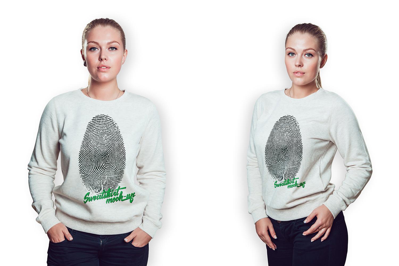 Sweatshirt Mock-Up example image 2