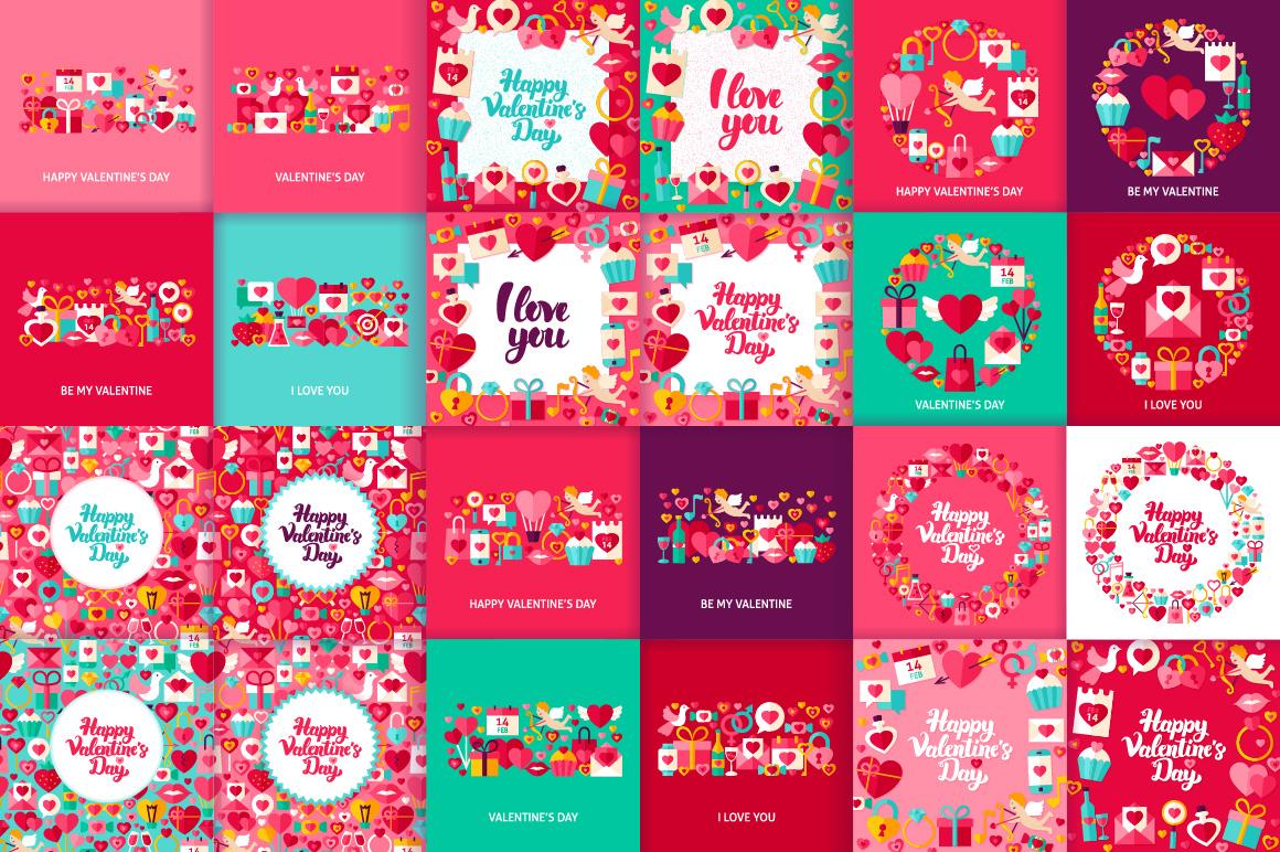 Happy Valentine's Day Concepts example image 6