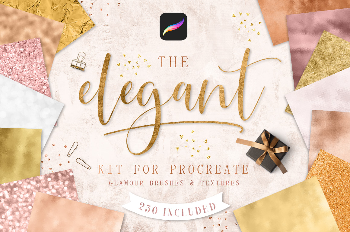 Elegant Kit for Procreate example image 1
