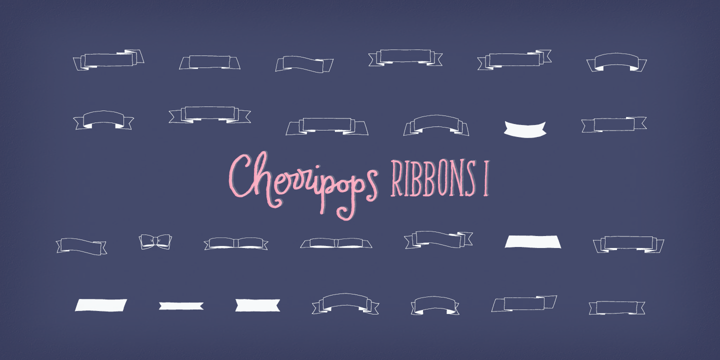 Cherripops Expressions & Ribbons - 4 pack example image 4