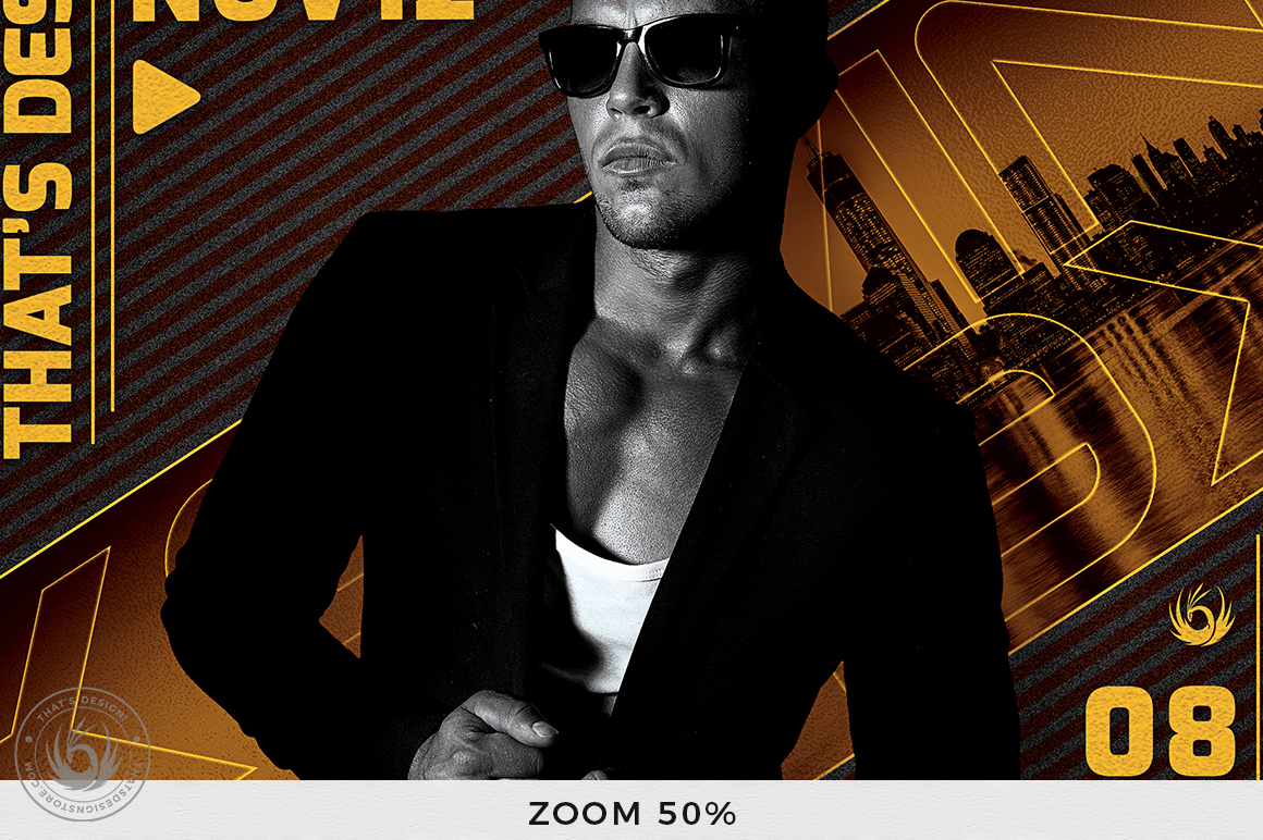 DJ Guest Flyer Template V3 example image 7