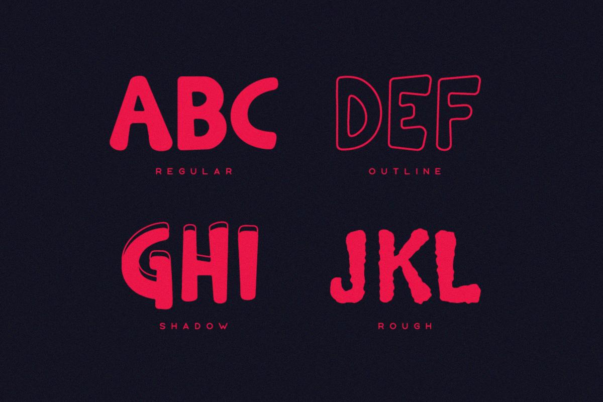 Warden Typeface example image 4