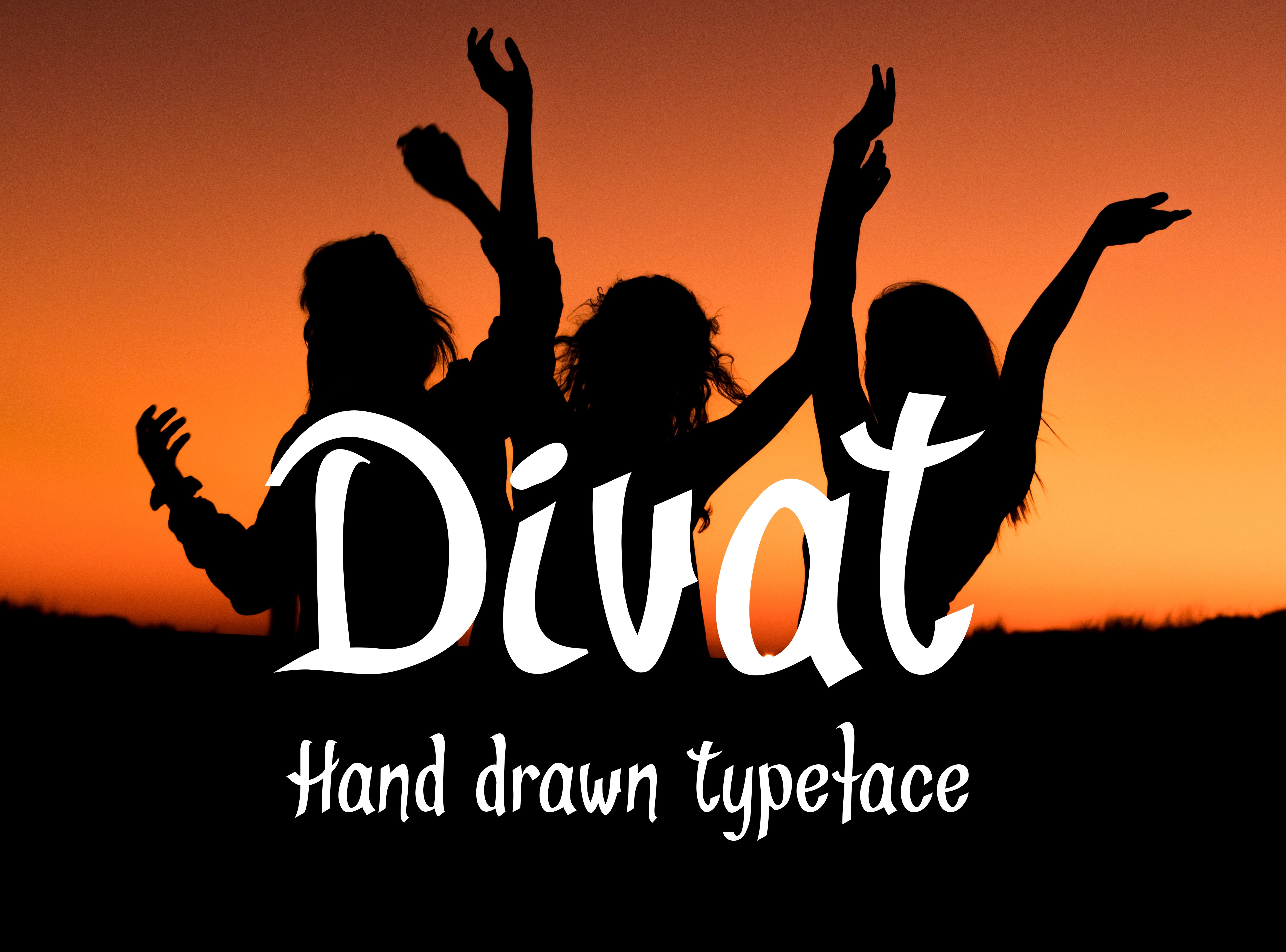 Divat Font example image 2