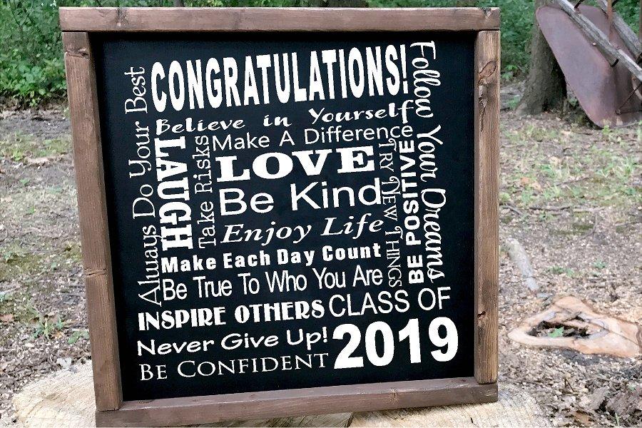 Senior 2019 Class of 2019 SUBWAY ART SVG Graduation example image 2
