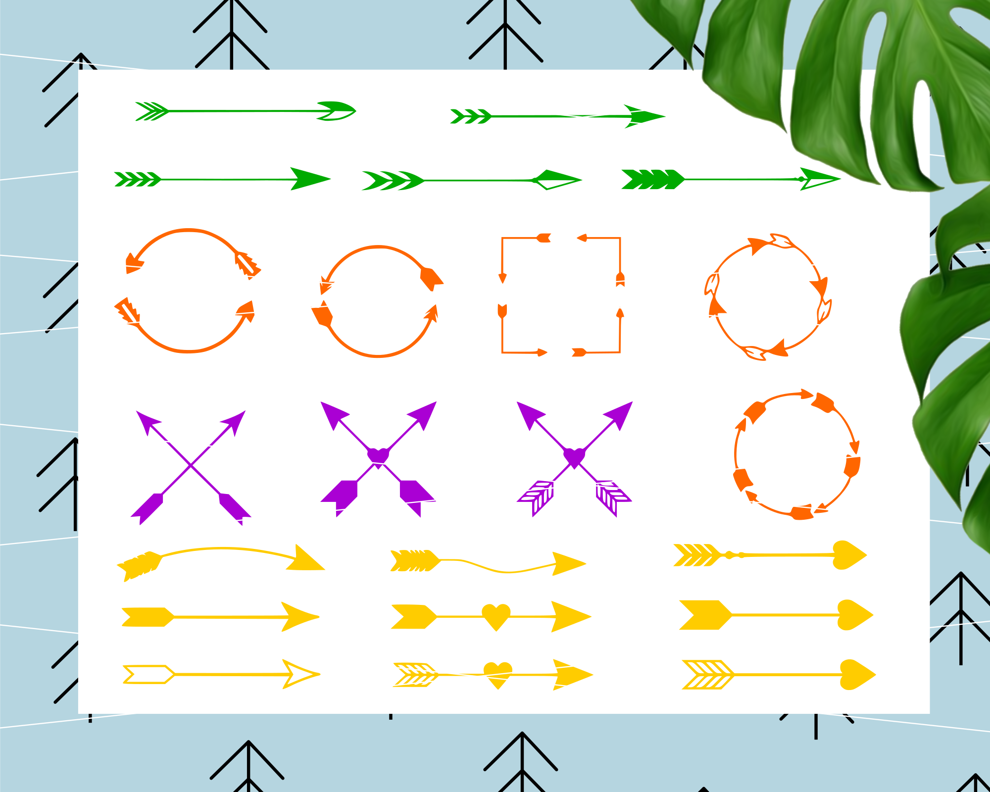 Arrows pack svg example image 3