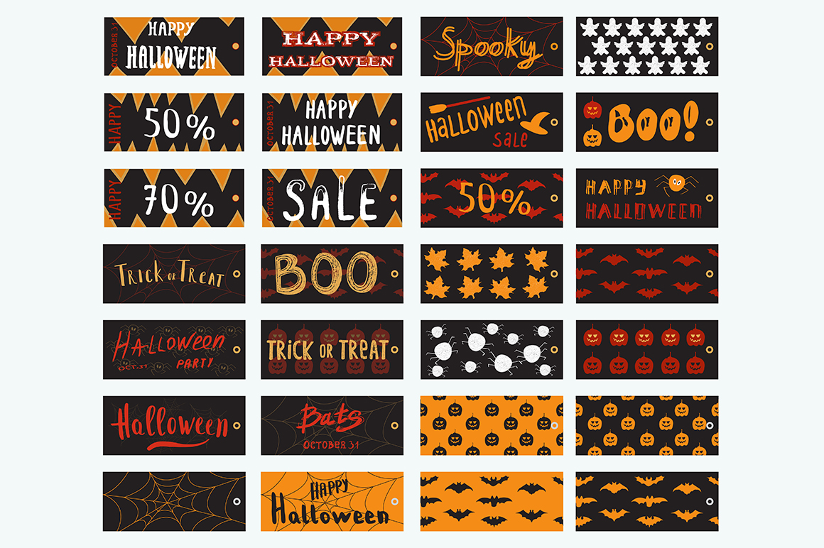 50 OFF Halloween Vintage Collection example image 12