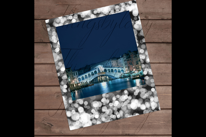 254 Bokeh Polaroid Bridal Shower Photo Booth Photo Frames example image 4
