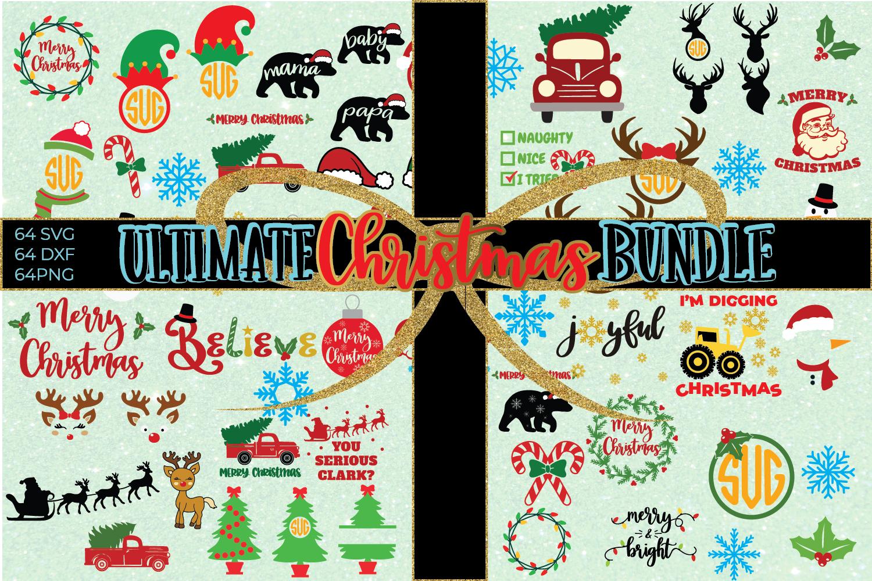 Ultimate Christmas Bundle SVG Cut File example image 1