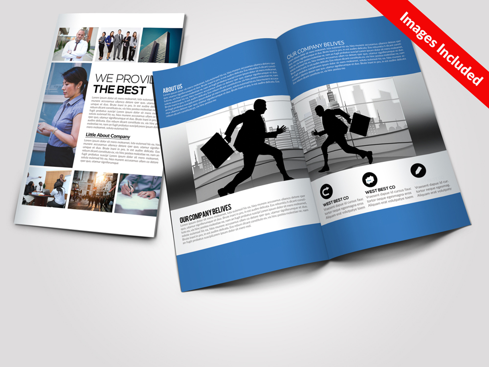 5 Business Bi-fold Brochures Bundle example image 3