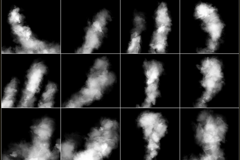 100 Cloudy Smoke Overlays example image 7