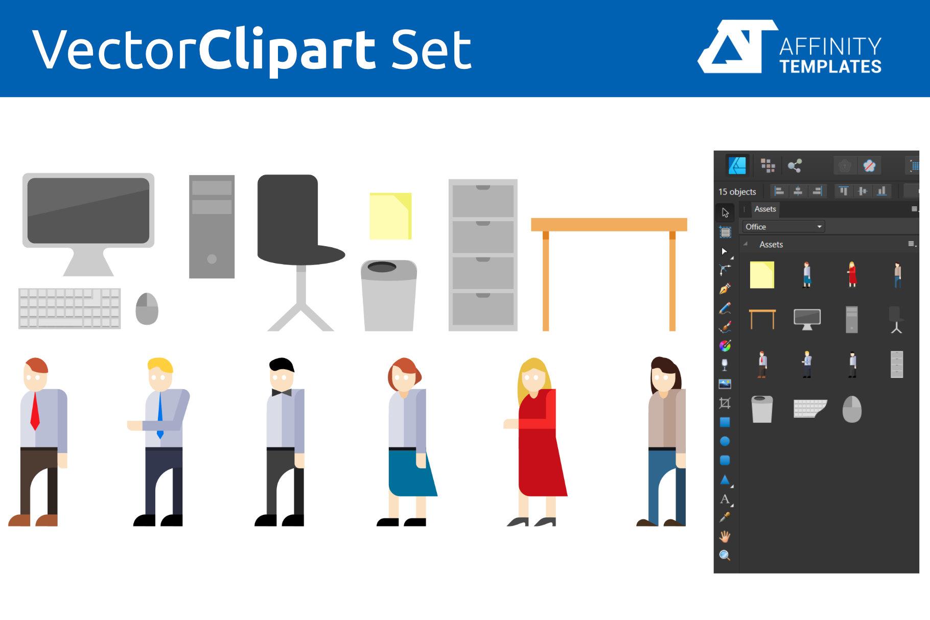 Affinity Designer Clip-atrs Bundle example image 9