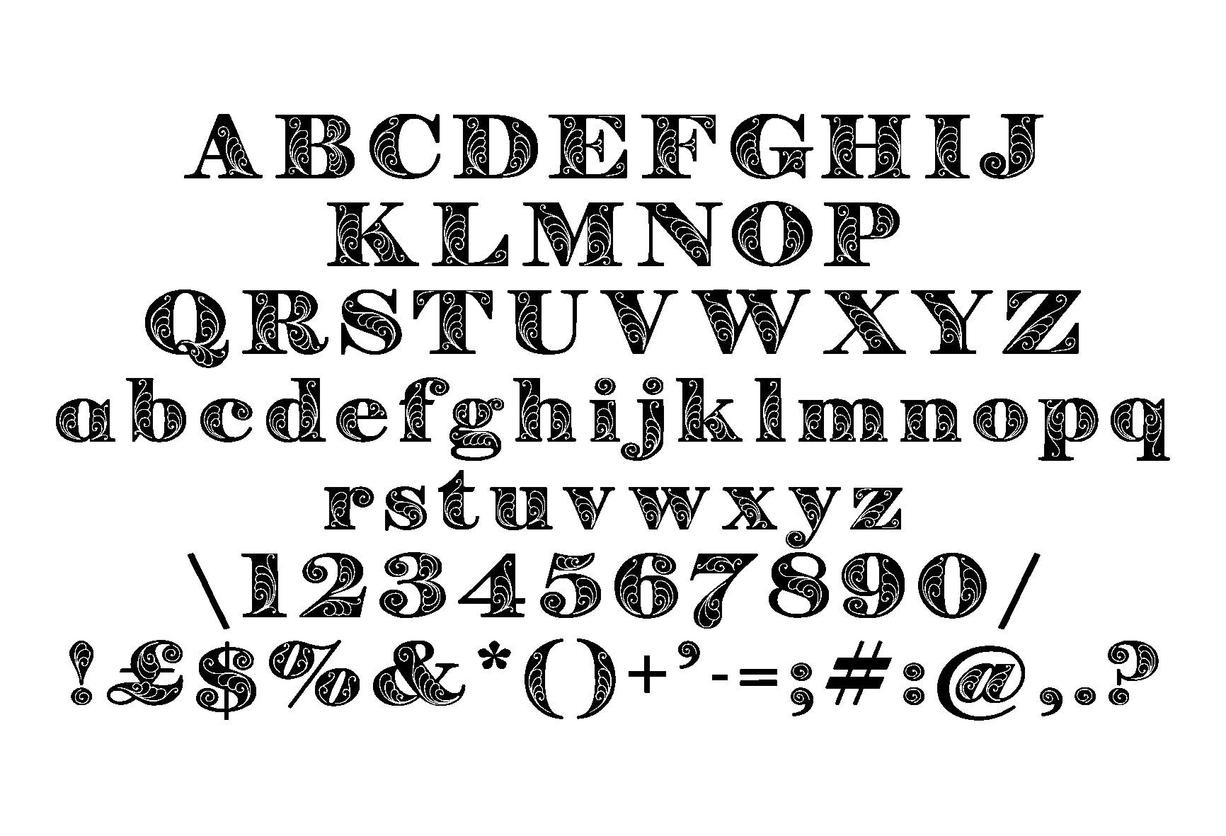 Zenone font example image 5