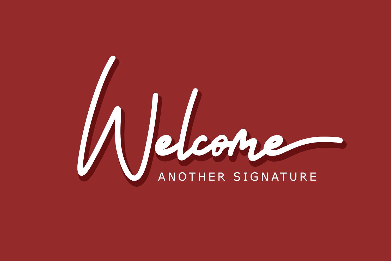Untitled Artwork Signature example image 2