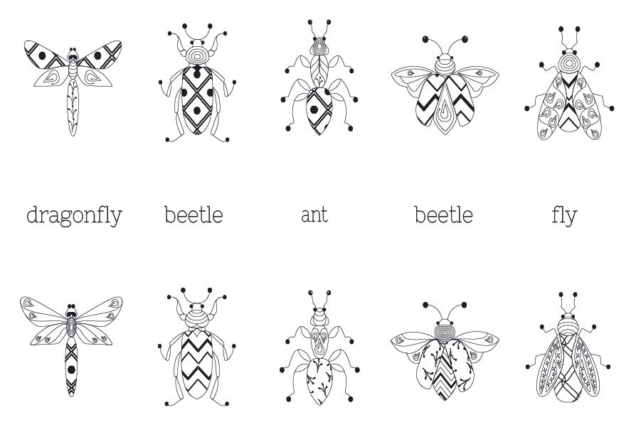 Zenart Vector Insects Collection example image 5