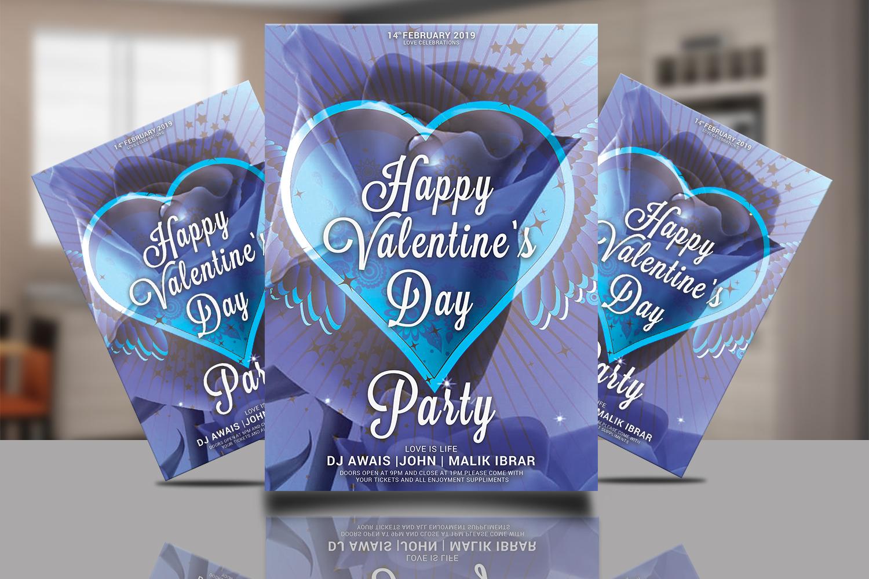 Valentines Day Flyer Bundle example image 6