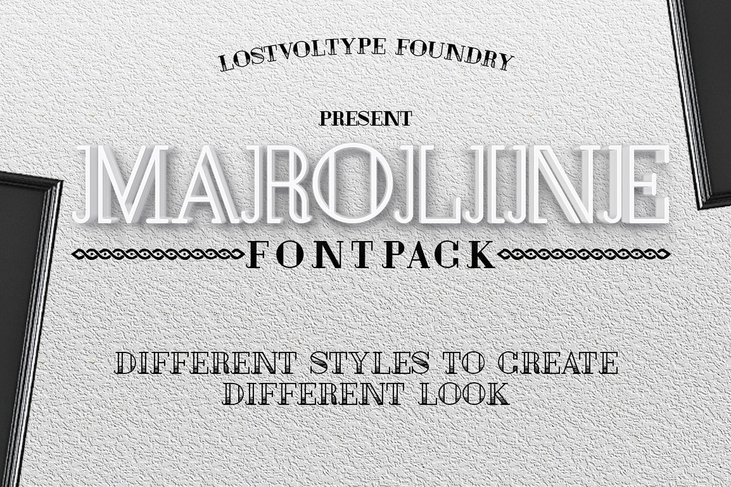 Authentic Vintage Font Bundle example image 7