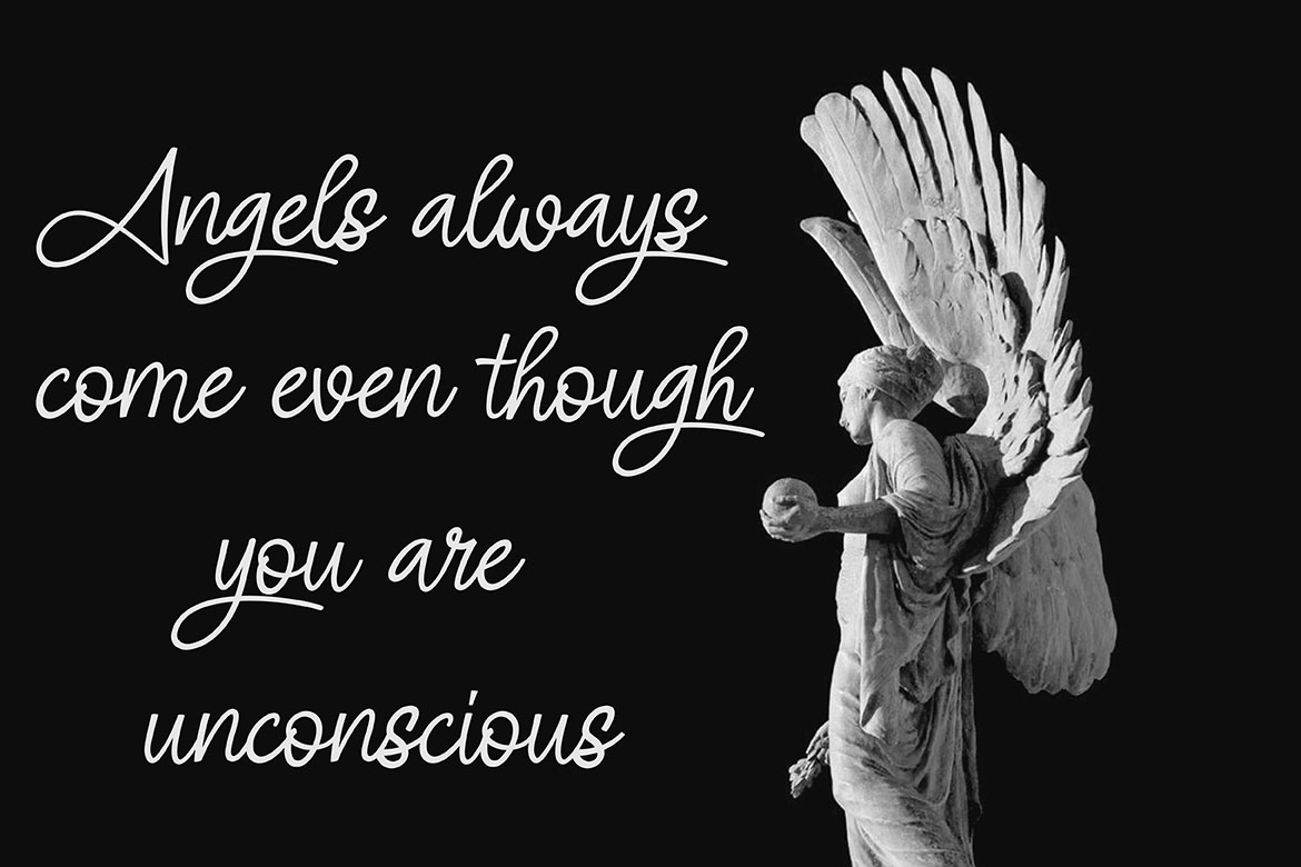 ANGEL SIGNATURE | free wings vector example image 4