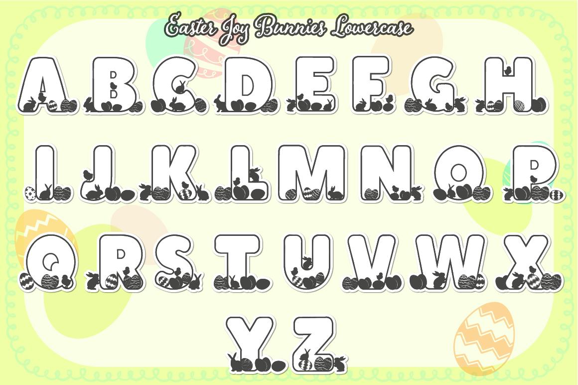 The Easter Joy Font Bundle example image 4