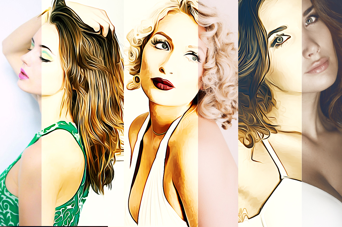 Creative Oil Paint Photoshop Action example image 5