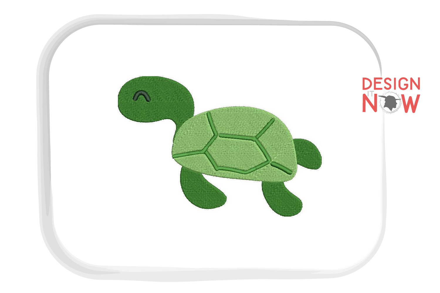 Turtle Embroidery Design, Turtle Embroidery Pattern, Sea example image 5