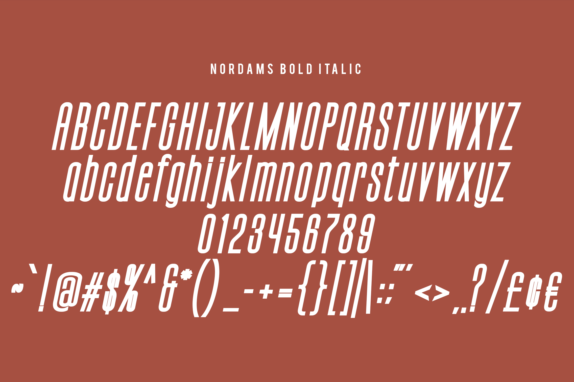 NORDAMS - Sans Serif example image 9