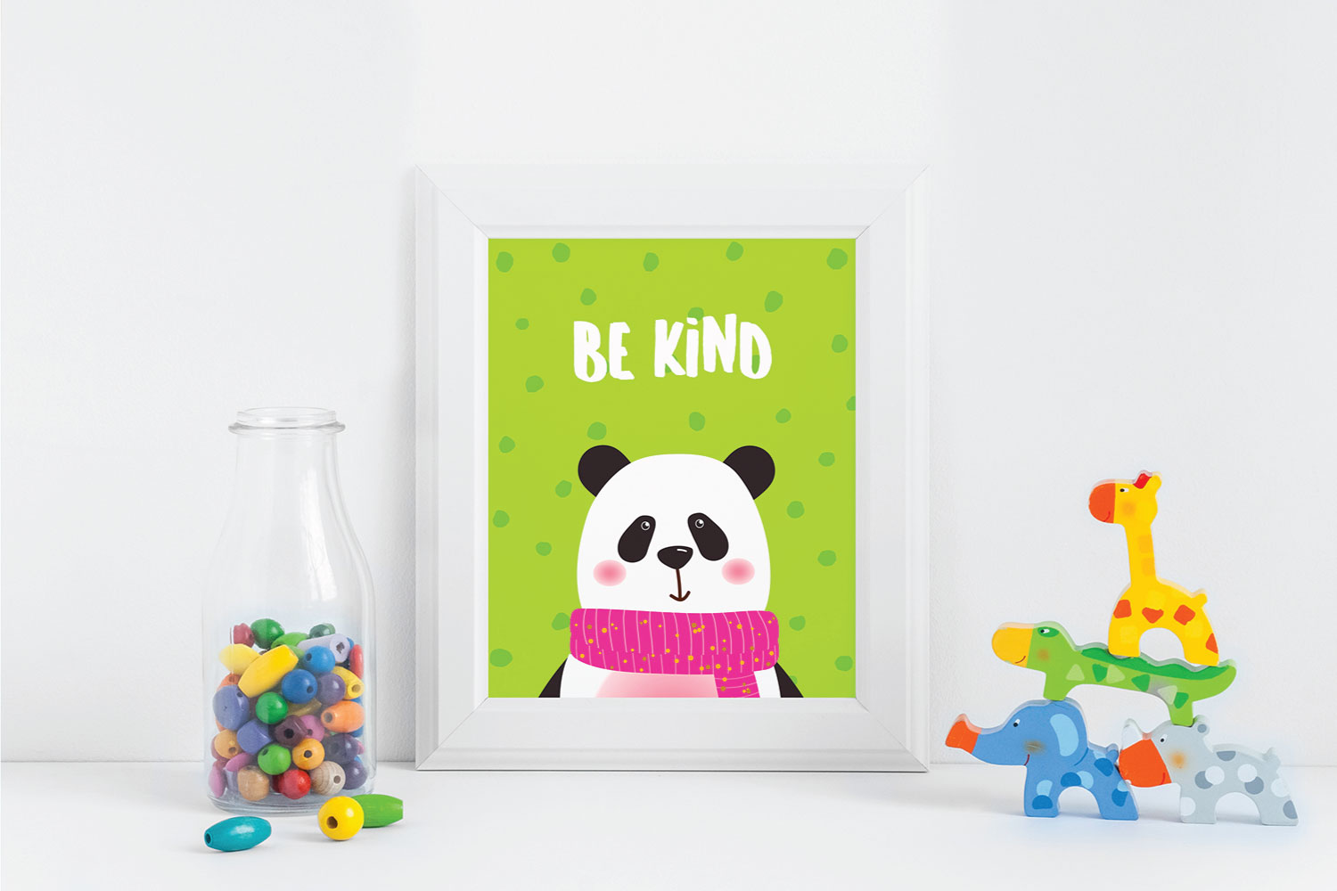 Cute Animal Posters example image 4
