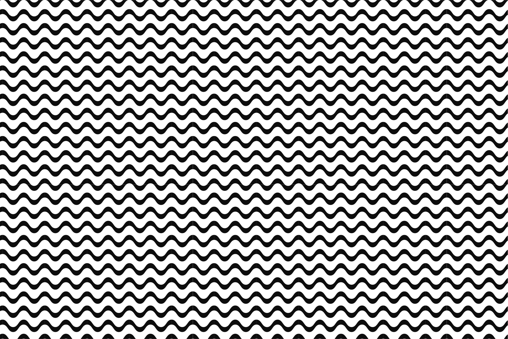 Wave&Zigzag seamless patterns. B&W. example image 6