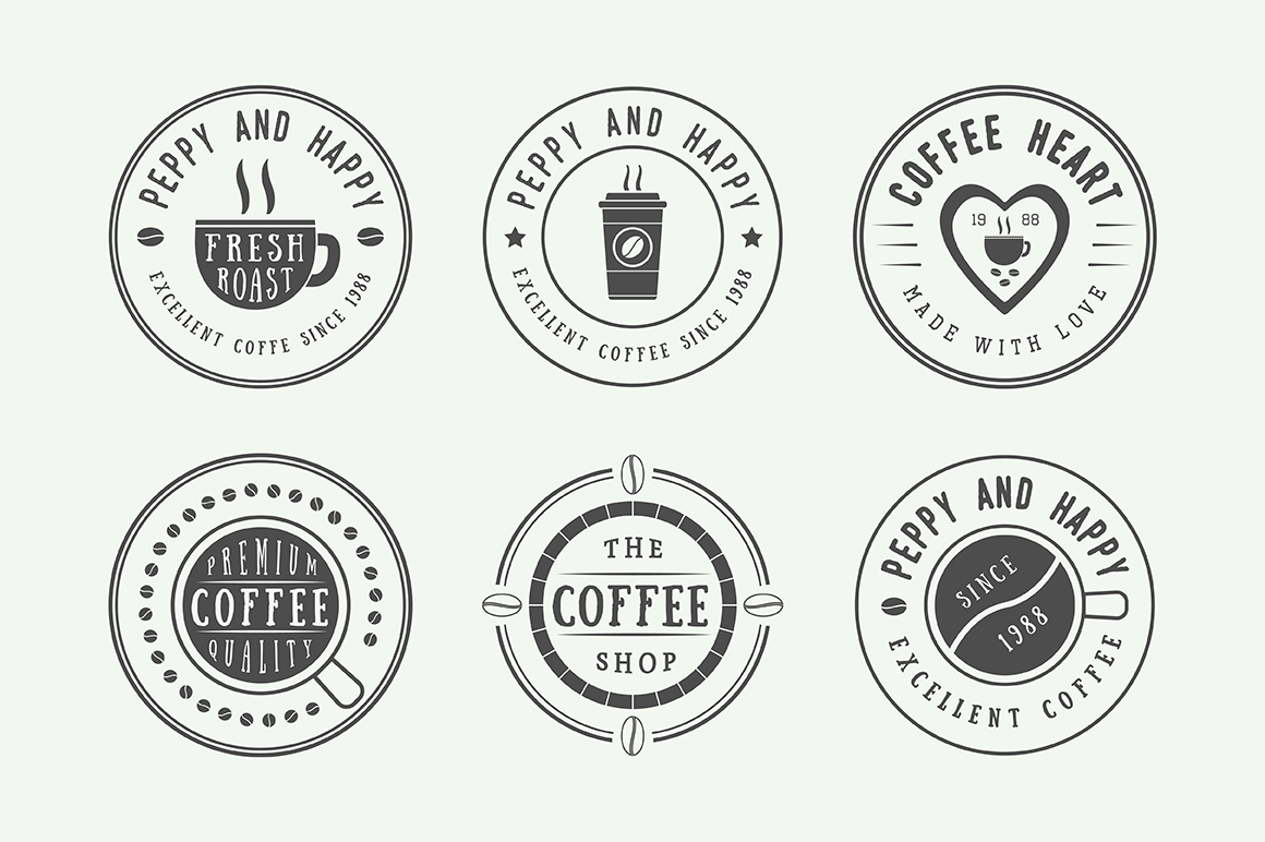 16 coffee emblems example image 3