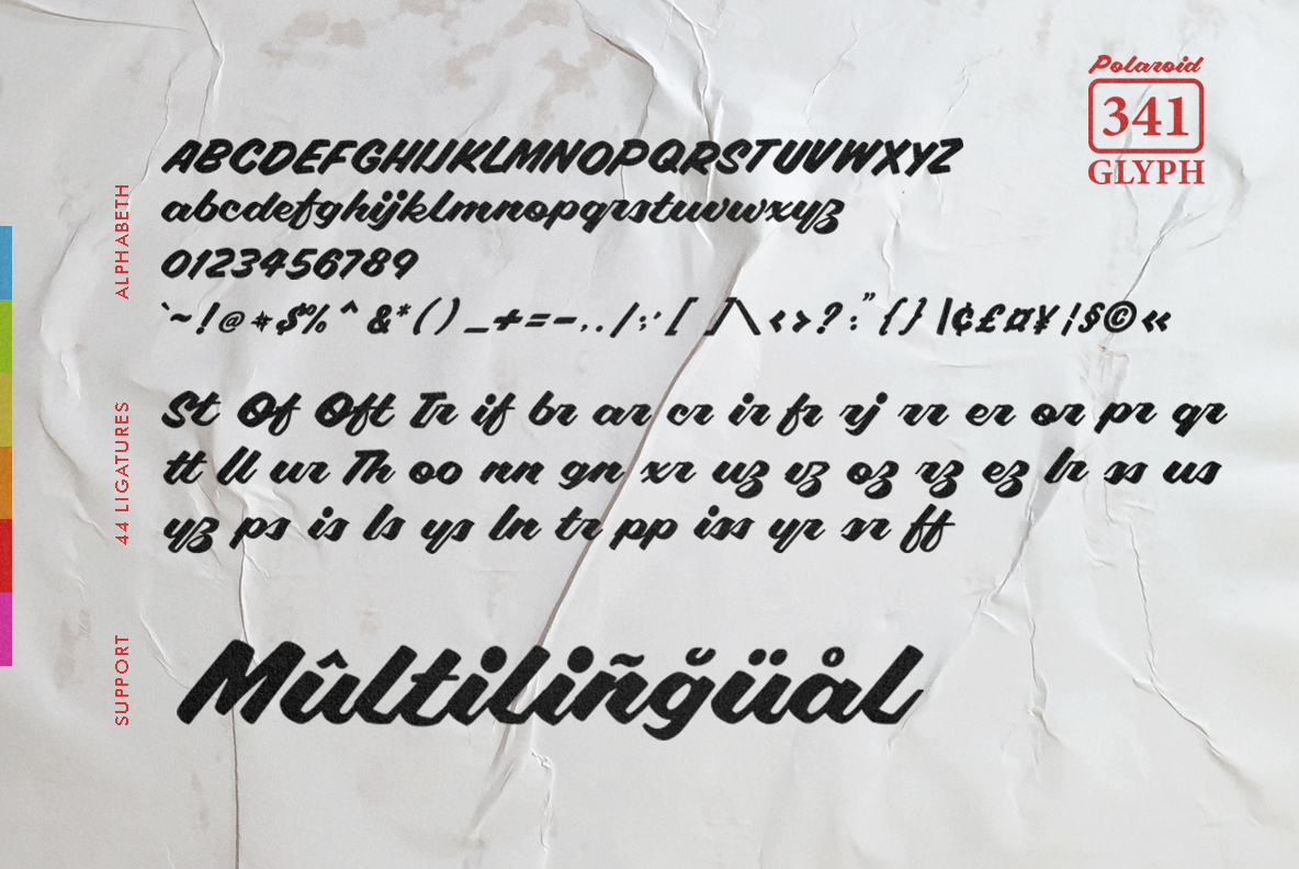 Polaroid Font example image 4