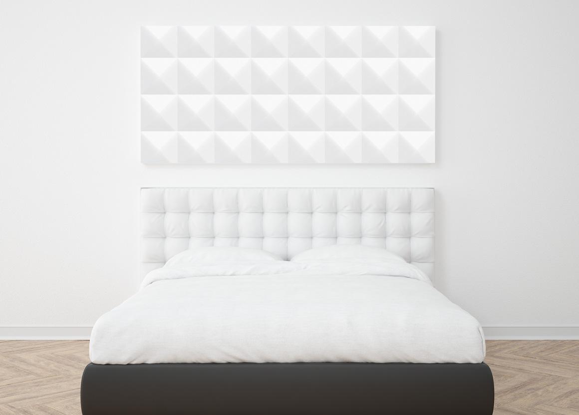 White decorative seamless textures example image 2