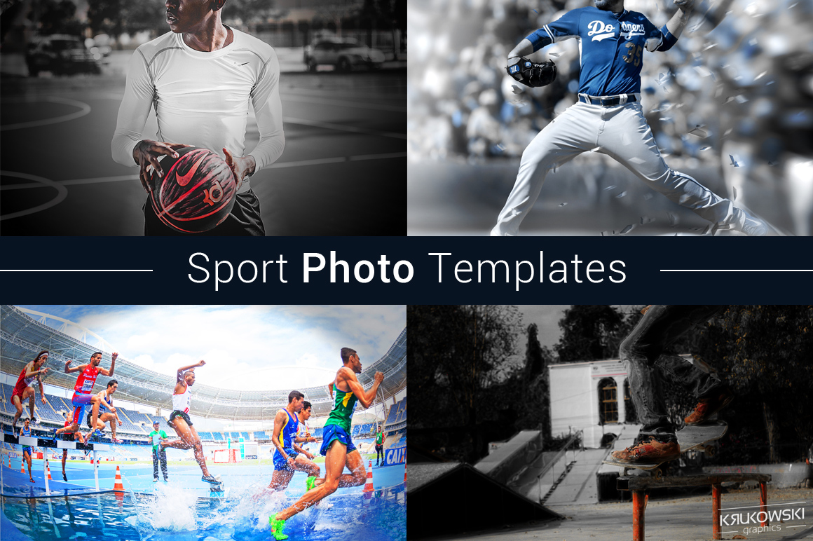 Sport Photo Template example image 1
