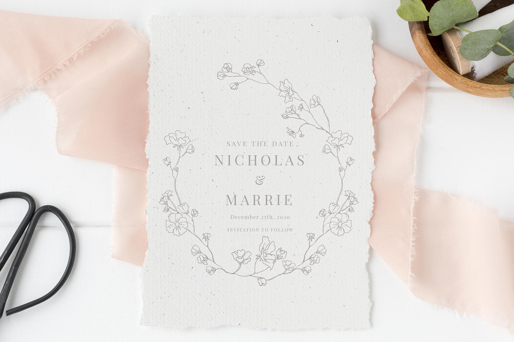Elegant Floral Wedding Suite example image 2