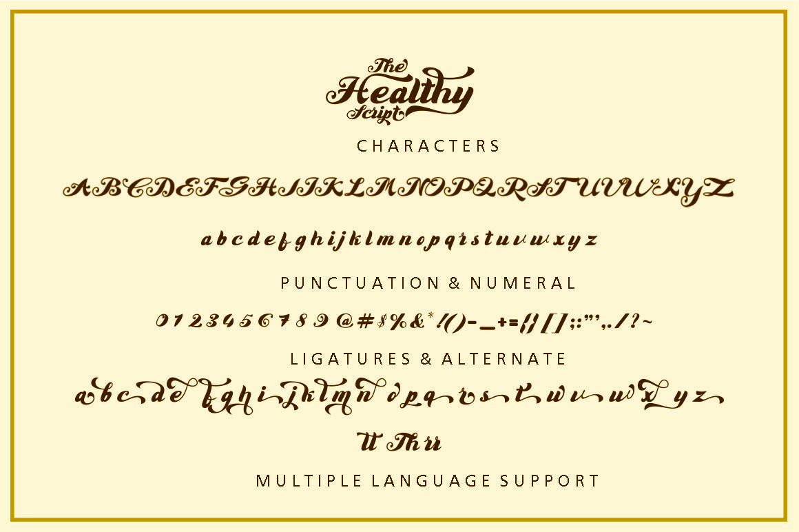 Brantley Script example image 6