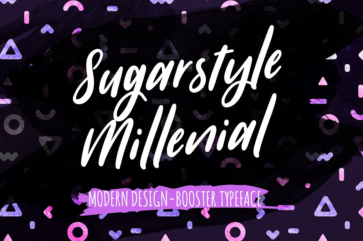 Sugarstyle Millenial Typeface example image 1