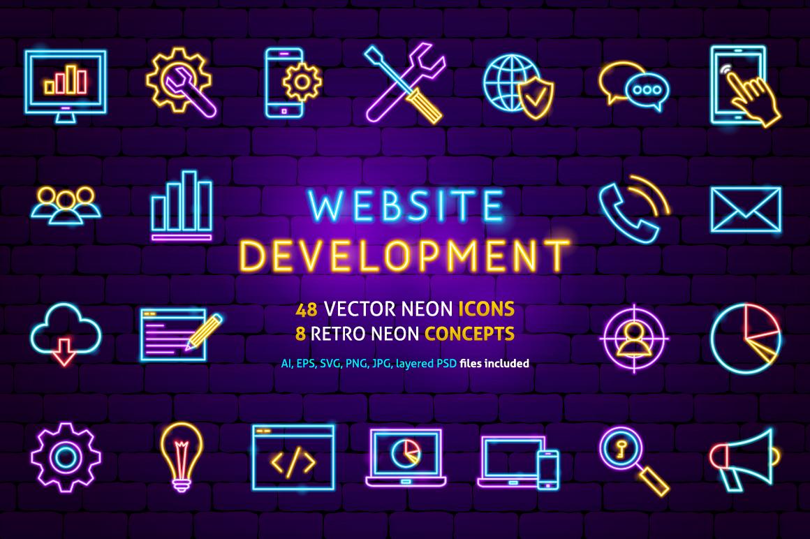 Web Development Neon example image 1