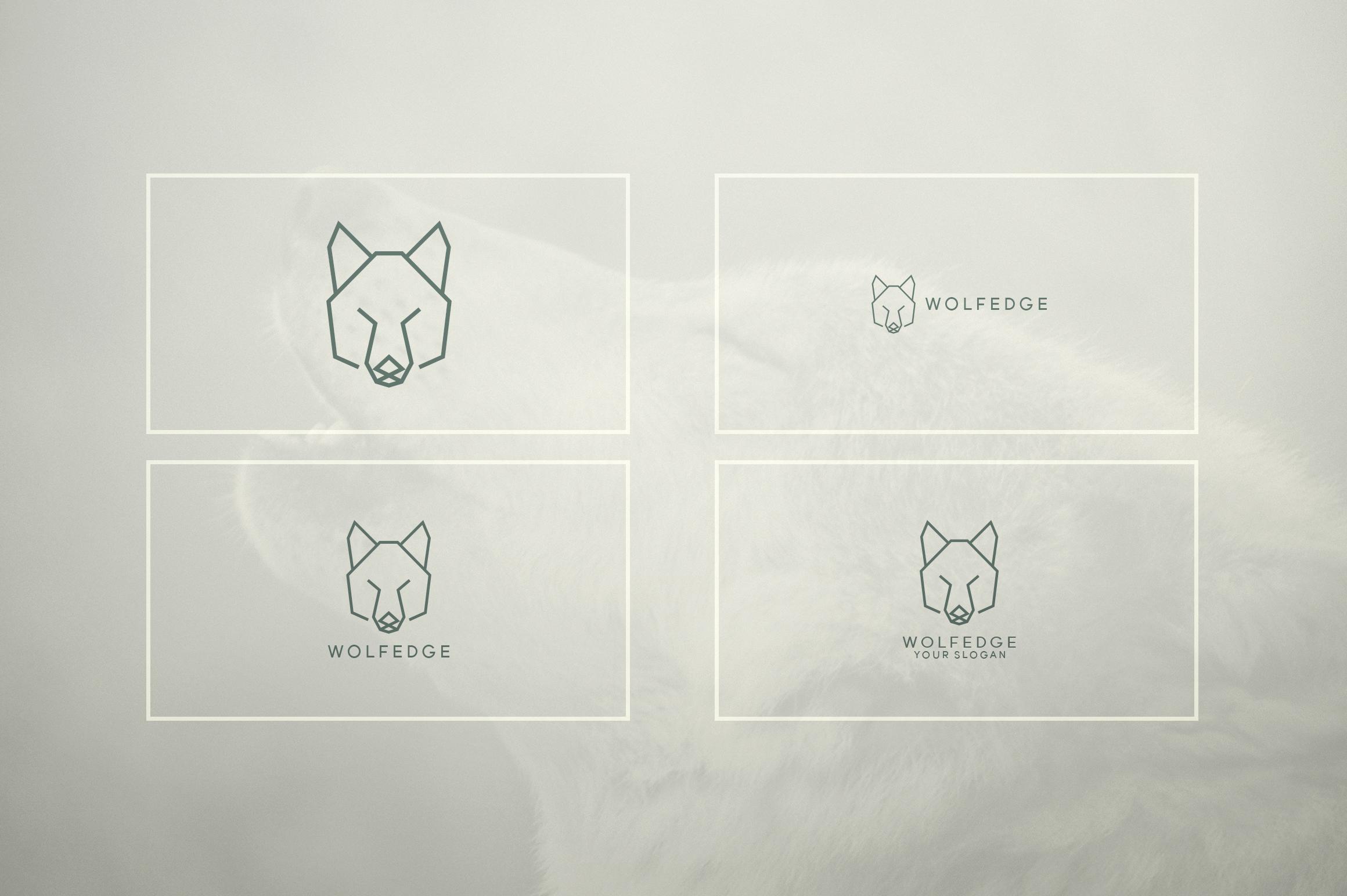 17 Geometric Animal Icons and Logos example image 9