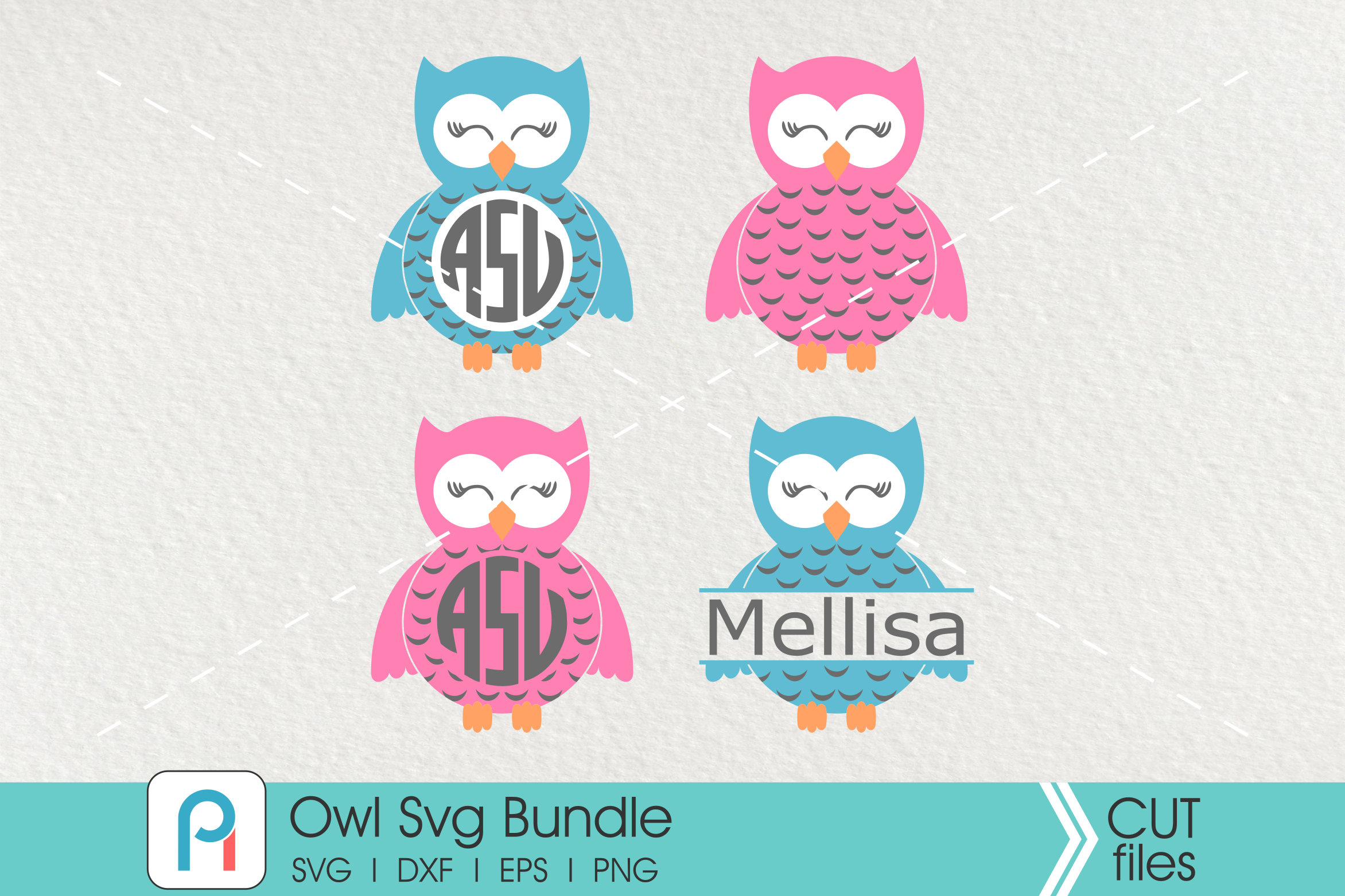 Owl Svg Bundle - owl vector cut files example image 1