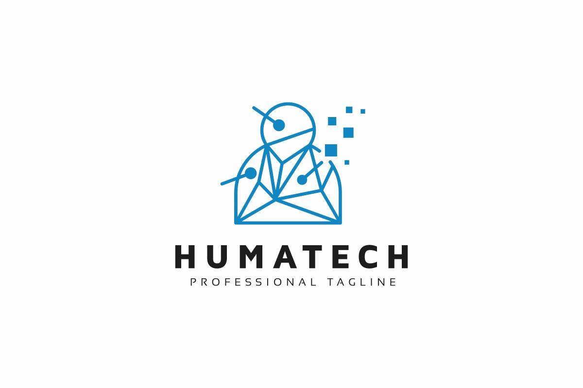 Human Technology Logo example image 1