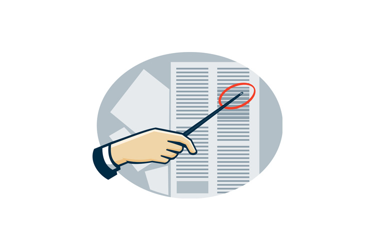 Hand With Pointer Pointing Data Sheet Retro example image 1