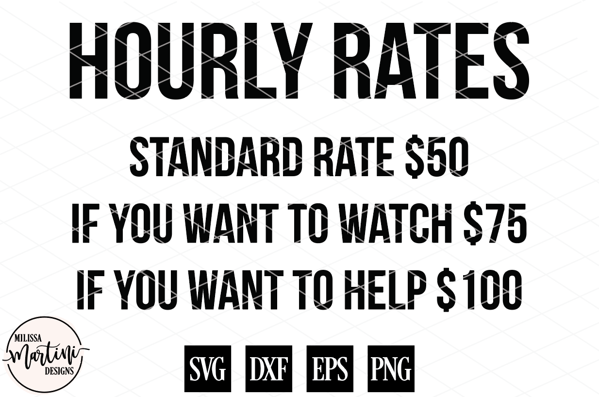 Hourly Rates Mechanic Sign Shirt Decal example image 4