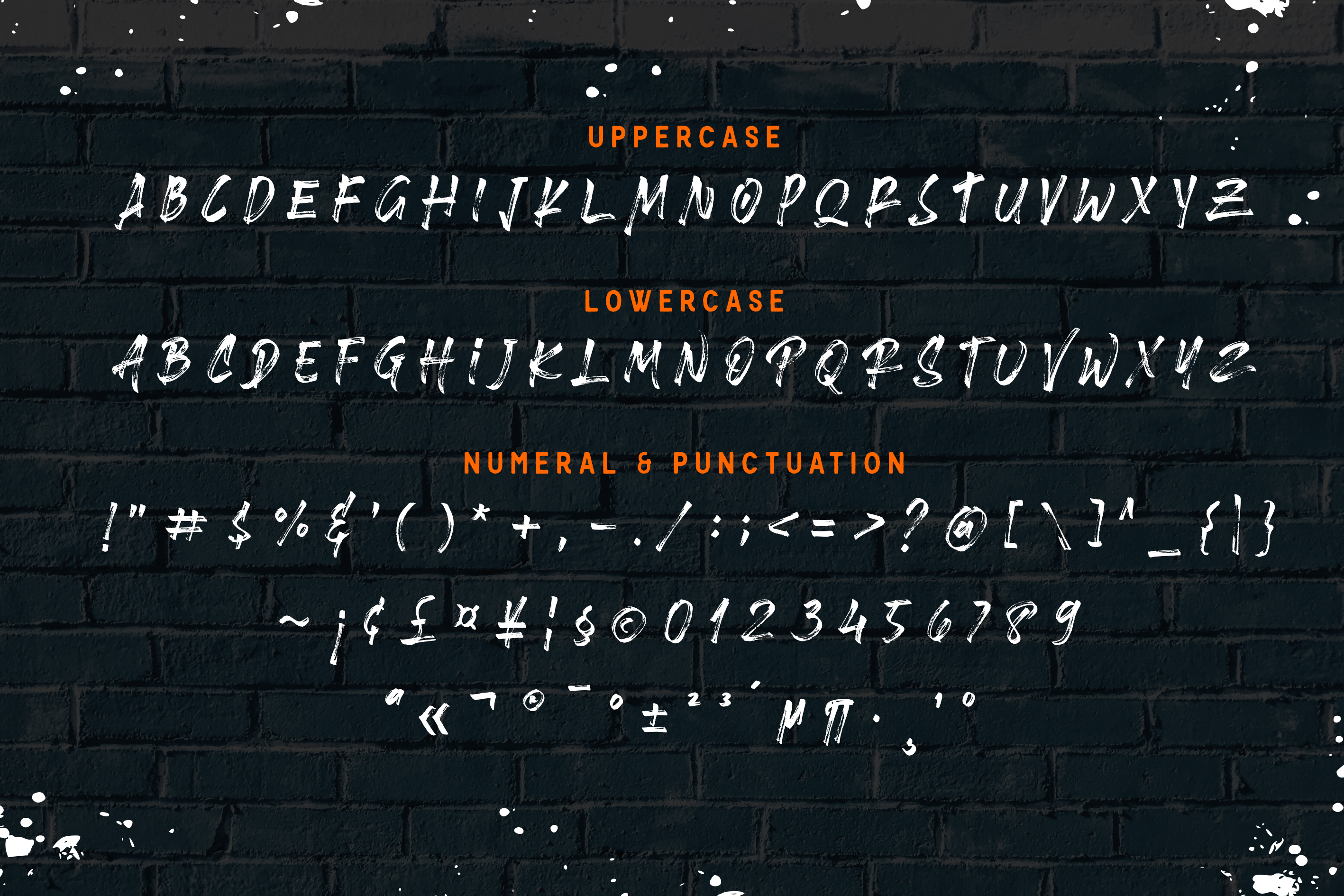 Brushlie - urban typeface - example image 11