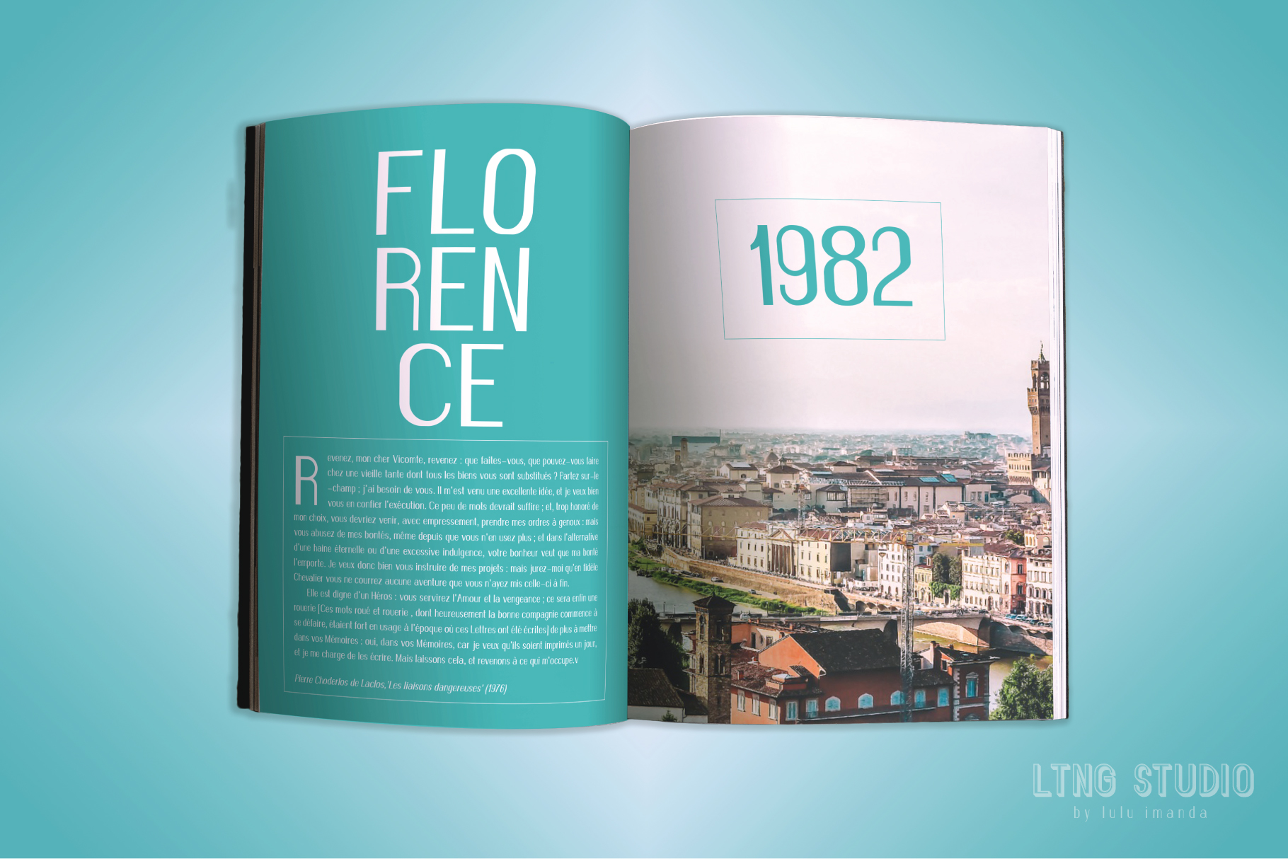 FLORENCE font family example image 5