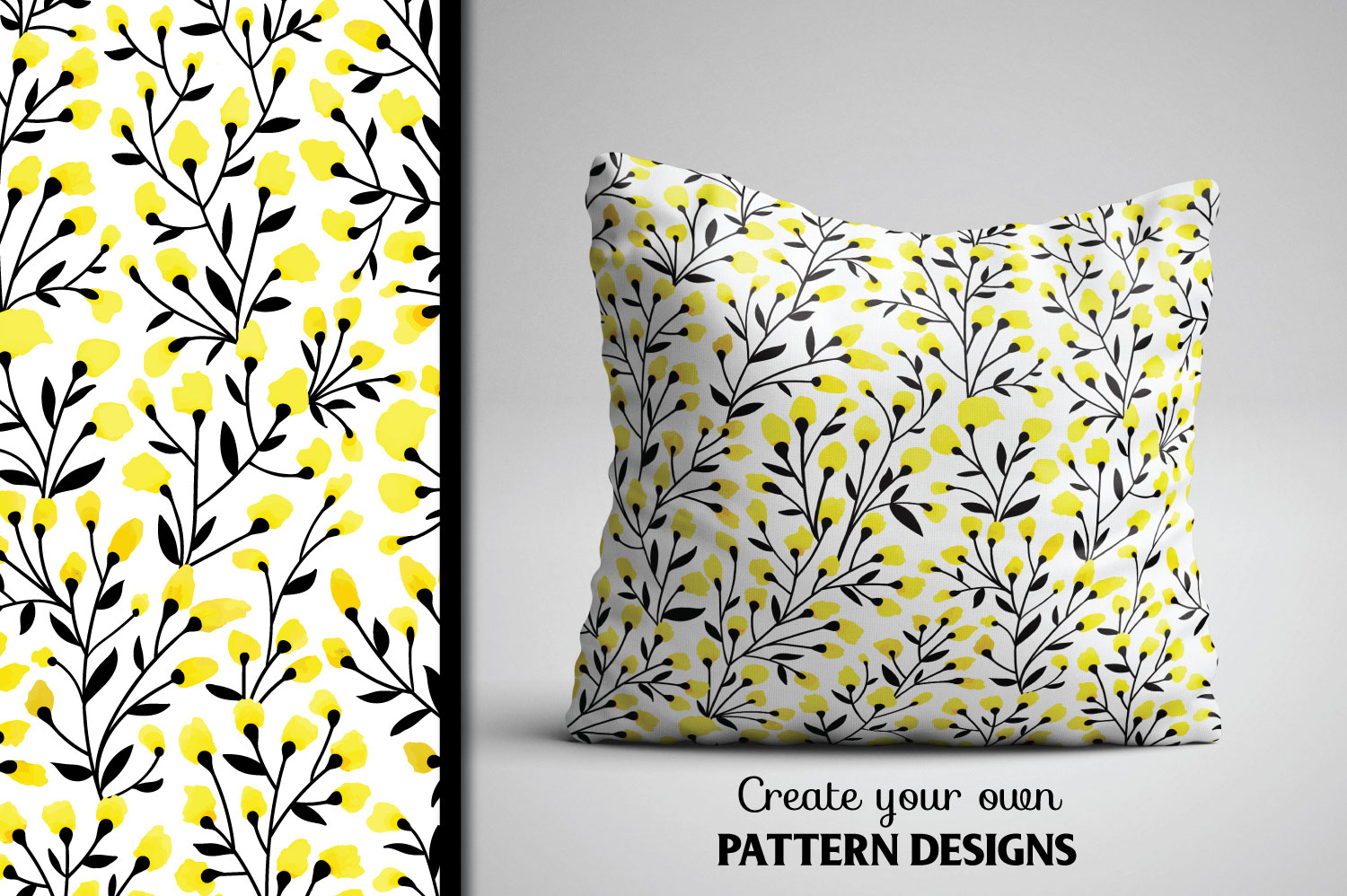 Yellow Floral Collection example image 2