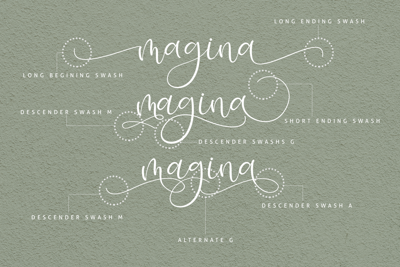 Isyana Script example image 2