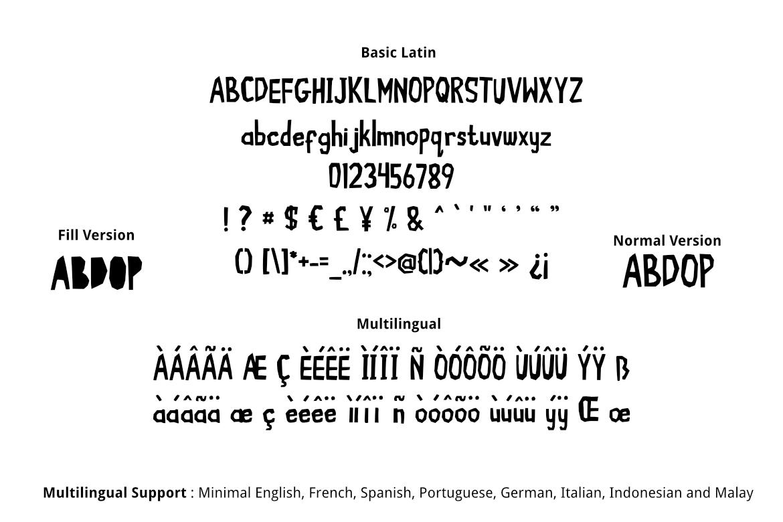 Cute Kraft Fonts example image 2