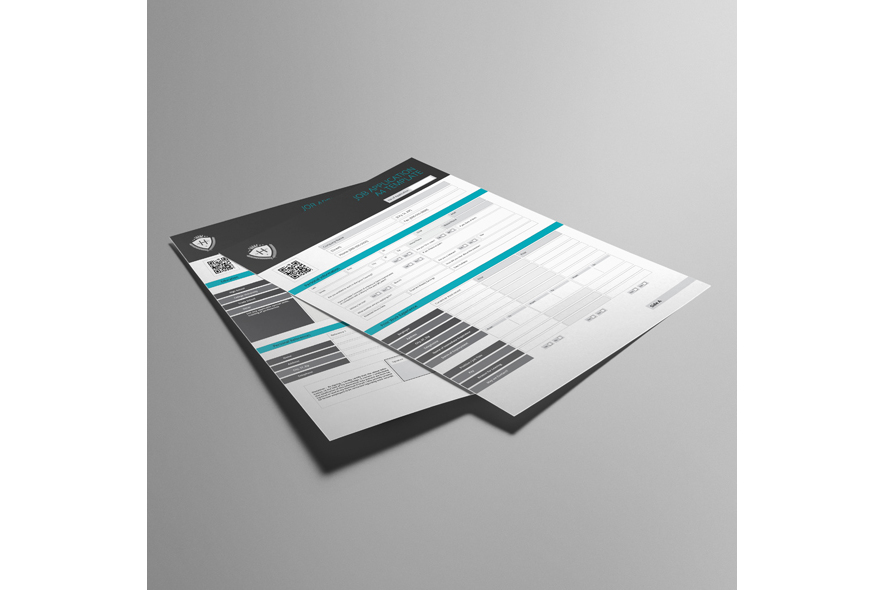 Job Application A4 Template example image 5