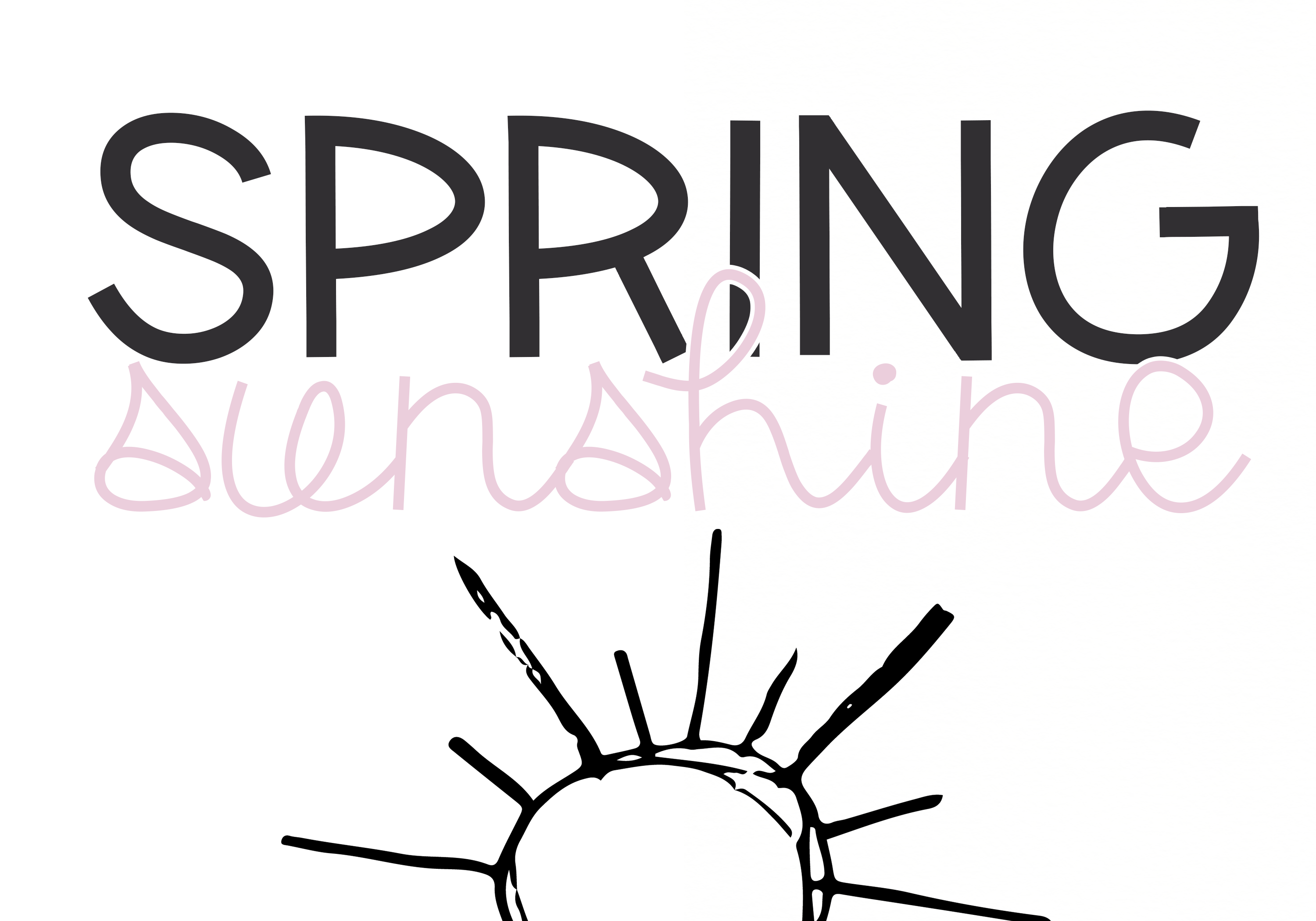 Spring Sunshine - A Serif & Script Font Duo example image 6
