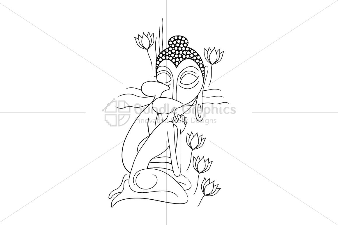 Moksha Buddha - Illustrative Artwork example image 1